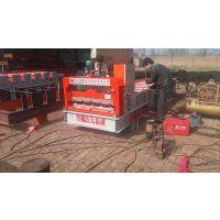 浩鑫840型压瓦机 彩钢瓦成型机 屋顶瓦机 厂家现货直销