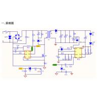 莱士电子LIS8830+LIS8002 28~42V/600mA 隔离高PF无频闪全电压LED驱动