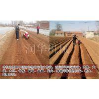 大棚耕整除草机 润华 一机多能翻地机 大葱开沟培土机