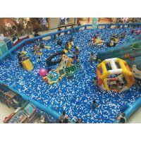室内淘气堡游乐设施大型海洋球积木乐园厂家直销