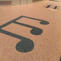 石全石美 承接天然彩石彩胶石胶筑透水地坪海绵城市工程施工