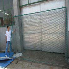 排球场围网 体育训练场地防护网 优质勾花网