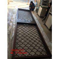 304不锈钢管焊接红古铜哑光屏风 拉丝面不锈钢仿铜花格