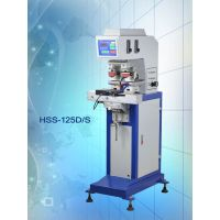 供应HSS-125D/S气动双色穿梭移印机