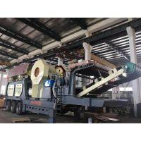 河南西芝机械可移动式破碎车设备、建筑垃圾粉碎设备厂家供应、简易箱破移动车