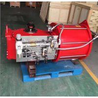 DRG01-D02-30 双作用拨叉气动执行器 大口径阀门气缸 大型气动执行器 大口径球阀气缸