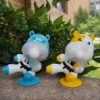 优魄跆拳道礼品卡通迷你儿童学生小风扇usb可充电纪念品随身携带