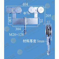 供应超重型吊轮组工业重型滑轮组每对承重1500公斤