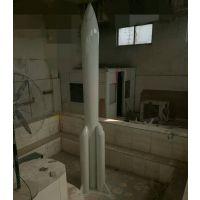 河南玻璃钢火箭模型 玻璃钢 造型 模型 厂家异形定制