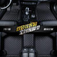 脚垫2017款18迈腾B8帕萨特朗逸新速腾POLO宝来捷达全包围汽车脚垫