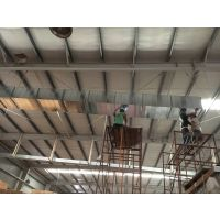 东莞共板法兰风管通风工程,东莞车间降温除尘风机设备工程