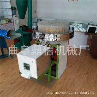 商用型电动面粉石磨机 70型杂粮磨粉机 优质石盘
