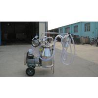 移动式双桶挤奶机,移动式挤奶机厂家,甘肃宾利达