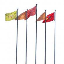 【金聚进】旅游景点旗杆,云南大理不锈钢旗杆