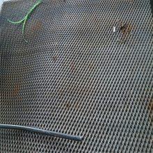 钢板网防护网 护坡钢板网 菱型网标准
