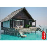 马尔代夫沙滩木屋设计图,马尔代夫沙滩木屋施工图,融嘉供