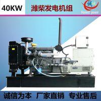 40KW潍柴动力柴油发电机组 工厂备用