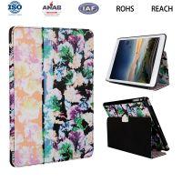 复古图案12.9寸新款iPad Pro保护壳 带休眠智能苹果平板皮套 OEM定做
