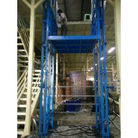 固定四柱升降机 汽车举升机 福州市启运液压货梯 黄山市导轨式货车电梯