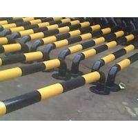 供应阳西钢管弯头挡车器 小区停车位定位器 固定加厚金属挡车杠厂家