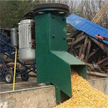 兴亚定西市小型饲料化肥输送机 小型饲料吸粮机 软管蛟龙式抽粮机