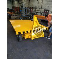 钢质 牵引平板拖车 平板拖车 行李搬运牵引车 鑫升厂家销售