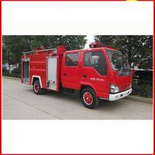 新款12吨五十铃消防车报价多少 水罐泡沫消防车厂家