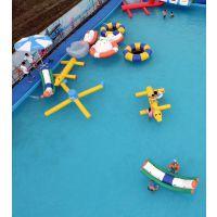 大型水上乐园设备出租移动式水上冲关设备租凭
