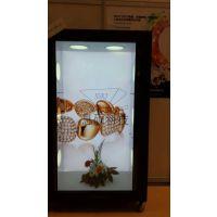 XS-全息厂家透明液晶屏贵金属展示柜