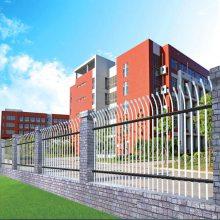 广州围墙新型喷塑护栏 学校带弯头组装栏杆 佛山护栏围栏