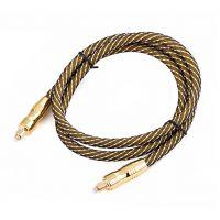 OD7.0 镀金 SPDIF 同轴光纤线 数码音频电缆线 Toslink数字光纤音频线