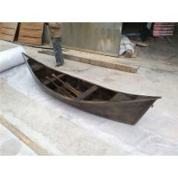 殿宝欧式手划船 景观木质船 渔船 贡多拉刚朵拉装饰摆件船价格