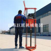 华夏巨匠QZ-2B型地质勘察岩心钻机汽油机动力小型轻便