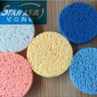 厂家直销方块形状海藻绵 压缩洛铁木浆棉