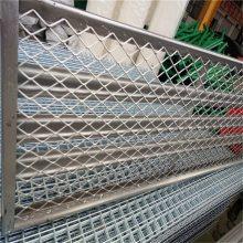 重型钢板网厂家 基坑支护钢板网 菱型拉伸网