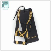 (润之行)厂家直销尺寸定制各种服装款式材质多样空白,箱包等吊牌订制