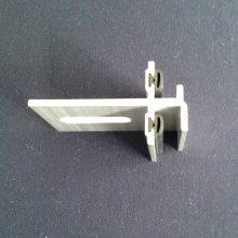 厂家直销铝合金陶土板挂件T18挂件 铝合金扣件 分缝胶条 幕墙配件 连接件