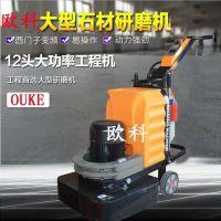 欧科580型可调速金刚砂地坪抛光机
