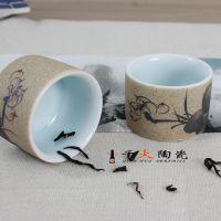 景德镇高档陶瓷茶具套装厂家直销 千火陶瓷