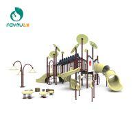 浙江实力游乐设备厂家全球直供 飞友户外组合滑滑梯 幼儿园小区大型滑梯00601