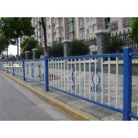 护栏厂家直销白色蓝色反光市政道路锌钢护栏马路安全隔离护栏栅栏