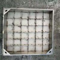 金聚进 厂家直销不锈钢窨井盖 镶边铺砖装饰井盖 201 304铁底板