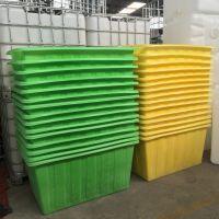 东营服装印染塑料方桶 耐用耐压500LPE塑料桶