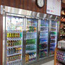 深圳超市用的立式玻璃门展示柜大致多少钱一台