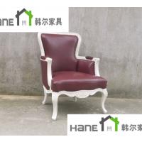供应南京民国红公馆餐厅实木椅子 餐厅桌子椅子定做 上海韩尔品牌家具
