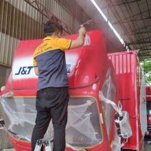 广州物流车喷漆怎么选