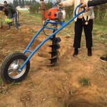 富兴果园施肥打眼机 手提式打坑机 车载植树挖坑机价格