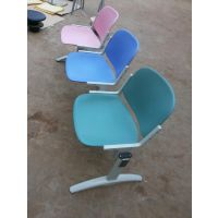 麦德嘉MDJ--MF01多人位等候椅车站学校金属脚学生课桌椅机场医院培训机构餐厅铝合金长排条椅子