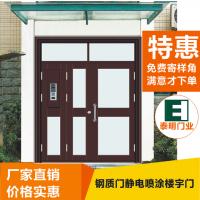 南京小高层住宅单元门|不锈钢门生产厂家
