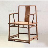 餐桌椅家具 北欧现代实木餐椅 步步高靠背椅子休闲椅 酒店餐椅